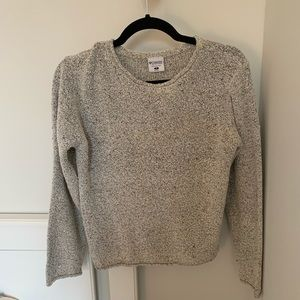 Speckled Columbia grey sweater